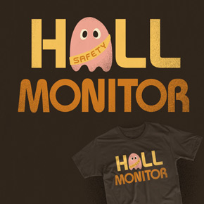 shirt.woot hall monitor man
