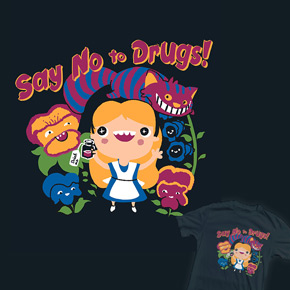 shirt.woot say no to drugs