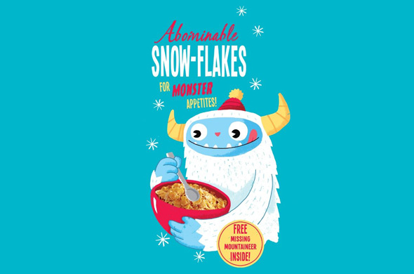 threadless abominable snow-flakes