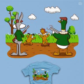 shirt.woot hunter hunted