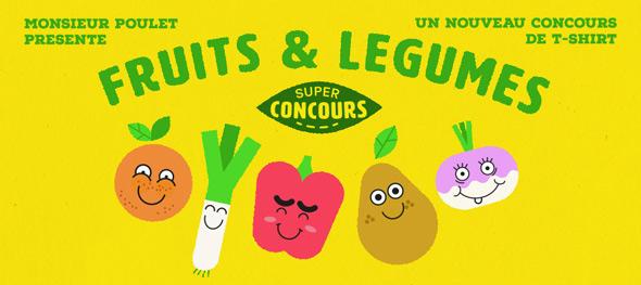 monsieur poulet fruits and legumes