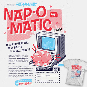 shirt.woot nap-o-matic