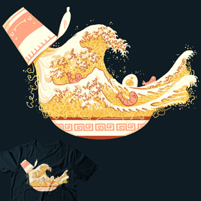 shirt.woot the great wave of flavor