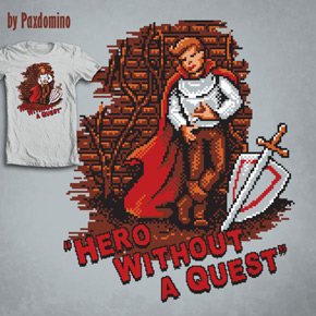 shirt.woot hero without a quest