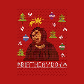 threadless ugly jesus sweater